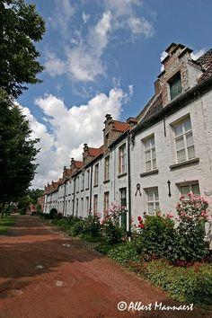 Begijnhof, Dendermonde. Belgium