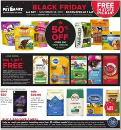 PetSmart Black Friday 2017 Ad Scan, Deals and Sales The PetSmart 2017 Black Friday ad is here! They will be closed on Thanksgiving and open at on Black Friday. You can also shop online starti. Xl Dog Beds, Black Friday 2017 Ads, Purina Friskies, Tank Stand, Dog Pads, Deal Sale, Dog Treats, Dog Food Recipes, Your Pet