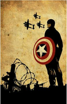 Captain America ~ The Avengers Marvel Fan, Marvel Heroes, Marvel Avengers, Avengers Characters, Arte Dc Comics, Bd Comics, Capitan America Wallpaper, Comic Books Art, Comic Art