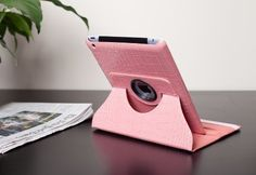KPAD - PINK For The New iPad 3 & iPad 4th Generation 360 PU Leather CROCODILE Rotating Magnetic Smart Cover Case(Will also Fit for the Ipad 2) High Quality Case Wake/Sleep Feature by KPAD. $9.99. THE NEW UPDATED CASES FOR THE NEW Ipad 3 / IPAD 4 Case is designed with duel layer protection. with hard plastic interior molding that fits perfectly to the back of the iPad 3 / Ipad 4 and premium quality synthetic leather in the exterior. The interior hard cover allows the iPa...