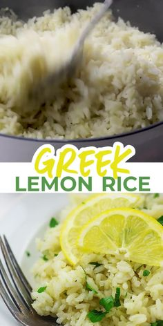The BEST Greek Rice!