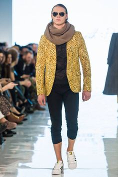 It's almost summer. But this look is hot. Kenneth Barlis Fall/Winter 2016 - Toronto Men's Fashion Week
