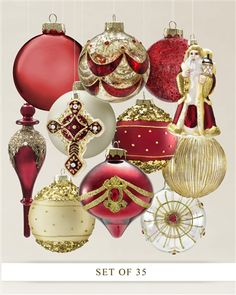 #MyBalsamHillHome Noel Ornament Set | Balsam Hill