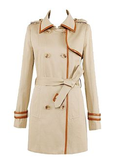 Classic Stripes Lapel Double-breasted Coat   Choies