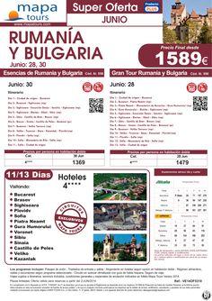 Rumanía y Bulgaria al completo salidas Junio **Precio Final desde 1589** ultimo minuto - http://zocotours.com/rumania-y-bulgaria-al-completo-salidas-junio-precio-final-desde-1589-ultimo-minuto/
