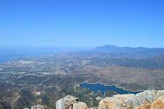 The view from La Concha Marbella