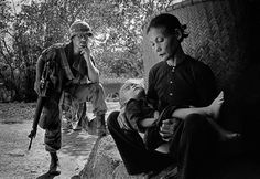 Quang Ngai, Vietnam by Philip Jones Griffiths, 1967. See the Exposure at Design Observer. http://designobserver.com/feature/exposure-mother-and-child-by-philip-jones-griffiths/38770/