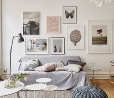 Home Styling  Love this pale, neutral palette.