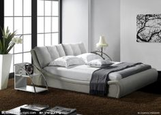 modern (I love the padded headboard and design of the bed. No storage space underneath the bed for hiding excess, though! Lol)