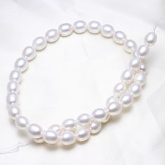YYW Rice Cultured Freshwater Pearl Beads Trendy Fashion Jewelry natural white 9-10mm Sold Per Approx 15.5 Inch Strand