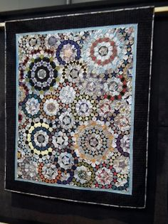 Michal Peter-Anderson – Passacaglia with Mr. Penrose shown at Festival of Quilts