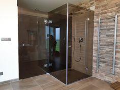 sklenený sprchovací kút s otočným dvermi s opáloveho skla Divider, Room, Furniture, Home Decor, Bedroom, Decoration Home, Room Decor, Rooms, Home Furnishings
