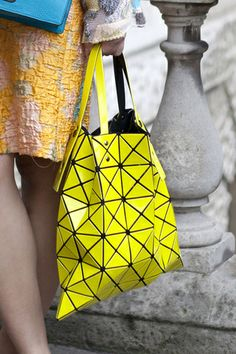 Geometric handbag's, well we are going to have something similar on Stylepur very very soon...watch this space !!!