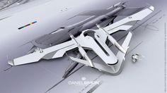 concept ships: Light Jet design by Daniel Simon and David Levy
