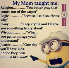 """These """"Top Minion Quotes On Life – Humor Memes & Images Twisted"""" are so funny and hilarious.So scroll down and keep reading these """"Top Minion Quotes On Life – Humor Memes & Images Twisted"""" for make your day more happy and more hilarious. Funny Minion Pictures, Funny Minion Memes, Minions Quotes, Minion Humor, Hilarious Jokes, Minions Pics, Minion Sayings, Minion Stuff, Evil Minions"""