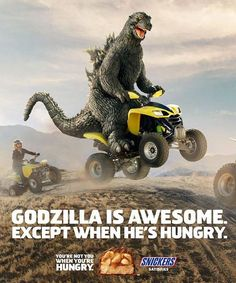 Snickers n Godzilla