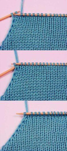 El modo dado de la disminución de los nudos es muy conveniente a vyvyazyvanii del orificio y las sisas del producto. Knitting Paterns, Knitting Basics, Knitting Videos, Knitting Charts, Lace Knitting, Knit Patterns, Knitting Projects, Crochet Stitches, Knit Crochet