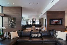 Wallace Ridge 05 620x413 One Story Residence in Beverly Hills, CA