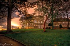 Cusworth Hall, Doncaster, 3 image HDR