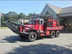 Freetown Fire Department, East Freetown, MA - Breaker 3 - 1976 AM General Brush Breaker Cool Trucks, Fire Trucks, Brush Truck, 6x6 Truck, Wildland Fire, Rescue Vehicles, Old Tractors, Roll Cage, Fire Apparatus