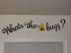 Gender Reveal Party - Bee Theme  Used cricut cartridge Quarter Note, Create a Critter, Create a Critter 2.