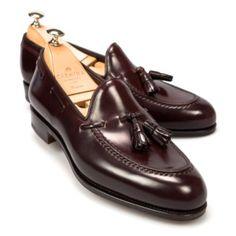 Cordovan Tassel Loafers Carmina Shoemaker | Naples, Florida Inspired Fashion