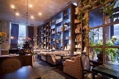 Old Boulevard interior design by Belenko Design Studio