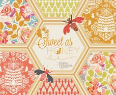 Fabric Love-Sweet as Honey by Art Gallery Fabrics