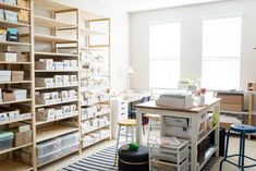 Behind the Stationery: ilootpaperie Workspace Design, Office Workspace, Office Interior Design, Home Office Decor, Office Interiors, Office Spaces, Business Storage, Small Business Organization, Office Organization At Work
