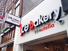 Nutella Bakery in Amsterdam! Want to go there NOW!