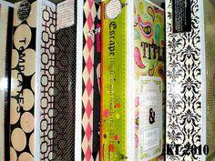 cute organization binders