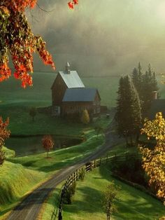Fall Country Farm