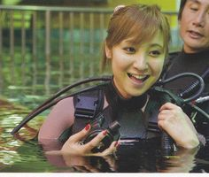 木口亜矢 - フォト蔵 Scuba Girl, Swim Wear, Mens Sunglasses, Swimming, Diving, Swim, Man Sunglasses