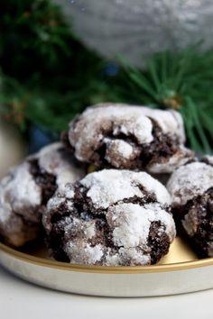 Home Food, Sweet Desserts, Crinkles, Tiramisu, Food And Drink, Brownies, Cookies, Chocolate, Baking