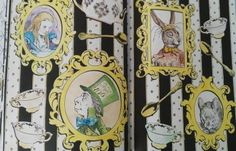 Tea Party  #aliceinwonderland #adultcolouringbook #colours #fun #book #antistress #arttherapy #colouringforadults