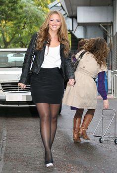 Kimberley Walsh | Flickr - Photo Sharing! Short Skirts, Short Dresses, Mini Skirts, Beautiful Legs, Beautiful People, Kimberley Walsh, Girls Aloud, Elizabeth Gillies, Girl Gifs