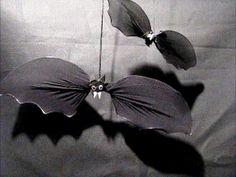 Jak zrobić na Halloween nietoperza z pończochy - Pomysły plastyczne dla ...