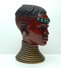 Botterweg Auctions Amsterdam > Ceramic African mask no. 6052 executed by Achatit-Werkstatten, Germany African Masks, Amsterdam, Art Decor, Sculptures, Germany, Objects, Auction, Porcelain, Animation