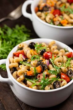 Selecting The Suitable Cheeses To Go Together With Your Oregon Wine Rainbow Pasta Salad-Veggie Chick Vegan,Gf, Oil-Free, Nut-Free Vegetarian Recipes Dinner, Vegan Dinners, Vegan Recipes, Vegetarian Chicken, Diet Recipes, Rainbow Pasta, Rainbow Salad, Clean Eating Dinner, How To Cook Pasta