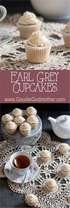 This recipe for Earl Grey cupcakes with honey buttercream frosting lets you do just that! * Recipe on GoodieGodmother.com