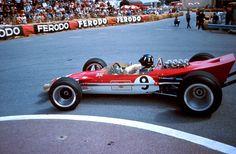 Graham Hill su Lotus 49 Ford 1968