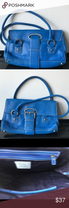 Cynthia Rowley Bright Blue Shoulder Handbag Cynthia Rowley Bright Blue Leather Shoulder Handbag - New  There are no visible scratches/scuffs/marks on the purse. This purse has been in storage for many years. No odors.    Please view the pictures carefully. All sales are final.   Thank you for visiting Mile End Treasures! Cynthia Rowley Bags Shoulder Bags