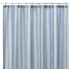 Baja Stripe Cape Cod 72 X Fabric Shower Curtain
