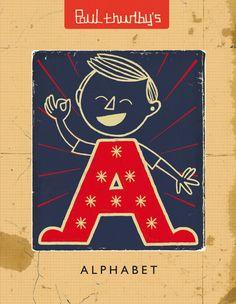 Paul Thurby's Alphabet