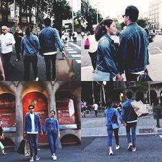 * Barcelona, Spain  — Denim Love  #HolaFromTheOtherSide  #kathniel