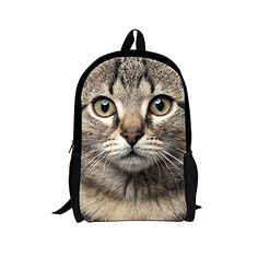 3e2d695b79 Cute Baby Boys Mini Backpack for School Cute Black Cat Printing Backpacks  for Children Zoo Animals Girls Kindergarten Bagpack