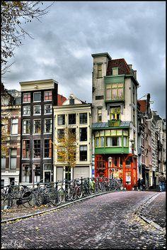 Amsterdam in November #holland #amsterdam #canal