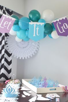 The Pampered Baby: Ari's Frozen Luau Birthday Party {Part 2}