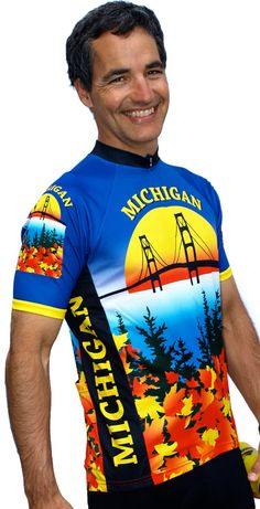 Michigan Bike Jersey