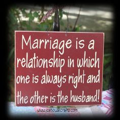 Marriage is a relationship sign | icehousecrafts - Folk Art